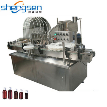 Chemical Medical Machinery CE Standard 30-500ml Bottle Filling Machine