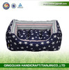 Free Samples Wholesale Cat Dog Bed With Star Printing & Pet House Bed & Canvas Outdoor Dog Bed