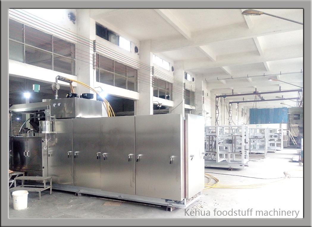 Chine fournisseurs automatique délicieux biscuit faisant la machine/commercial ligne de production alimentaire