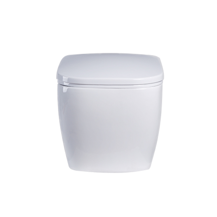 New design smooth pure white toto wall one piece toilet