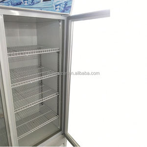 Countertop salad cold drink display refrigerator upright freezer