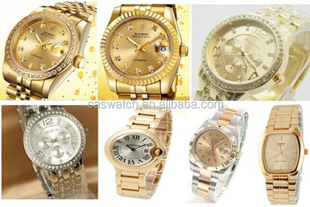 Vogue Watch Gold Watch With Japan Movt Quartz Watch Stainless ...