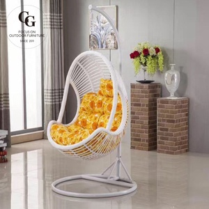 Ratan hanging chair patio and swing basket