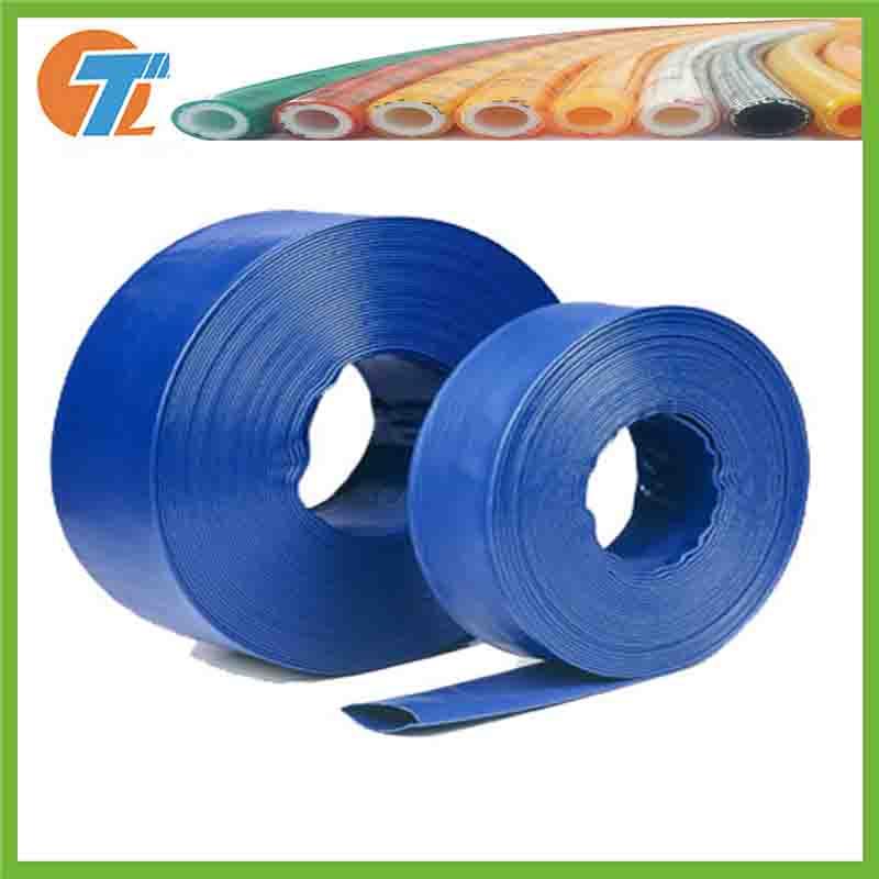 中国工場農業灌漑pe layflatホース柔軟な水パイプソフトプラスチック