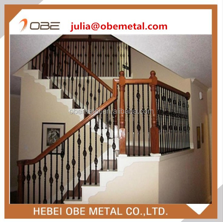 Metal Stair Spindles,balusters,solid And Hollow Spindles,handrail