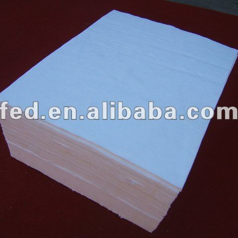 100% PP absorb oil pads ISO9001:2008