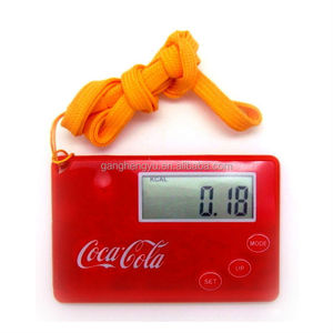 Factory supply Hang rope card type multifunctional pedometer
