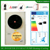 Save70% power R410A 12kw,19kw,35kw,70kw,105kw outlet 60deg.C instant electric water heater