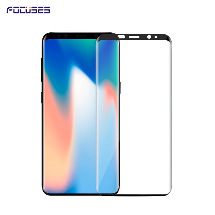 3D Full Adhesive 2 pack Tempered Glass For Samsung Galaxy S9 S9 PLUS