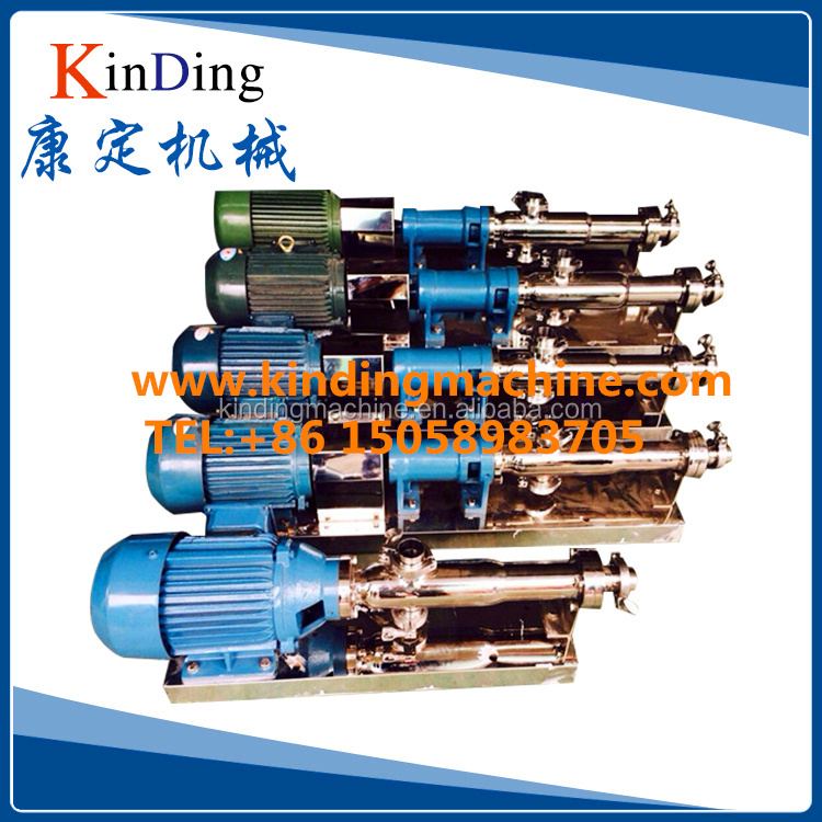 Sanitary Mono screw progressive displacement cavity pump for food, beverage, chemical,mud