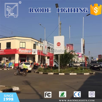 2015 Baode Factory Direct HPS Street Light of Single Arm