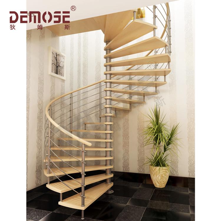 Huis stalen houten trap voor kleine ruimte buy trap voor for Houten wenteltrap