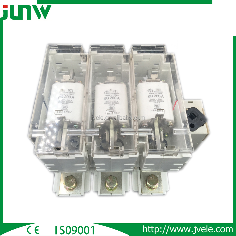 China Manufacture 3 Pole 3 Phase Switch Disconnector With Earth Fuse ...