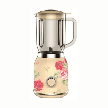 Beautiful printed electrical home appliances portable juicer kitchen blender