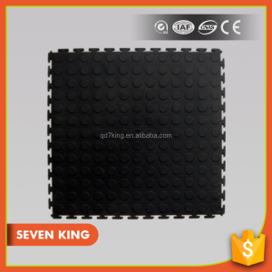 Qingdao 7King wear resistant fire proof plastic pvc flooring mats used for ground