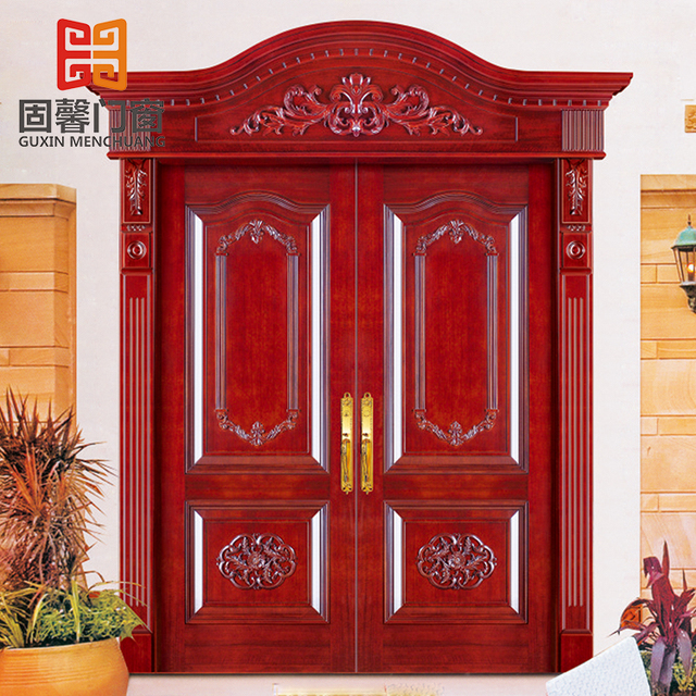 Buy Cheap China luxury double wooden doors Products, Find China ...