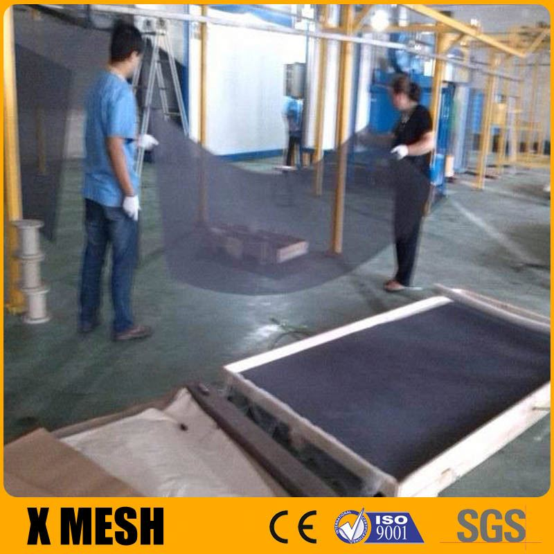 ss304, ss316 14x14 Heavy duty Stainless Steel woven insect screen mesh used in homes and office