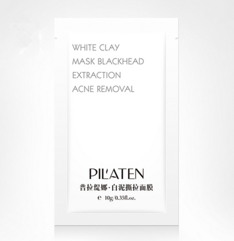 PILATEN White clay mask blackhead extraction acne removal