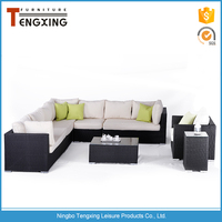 China modern leisure way outdoor synthetic rattan furniture