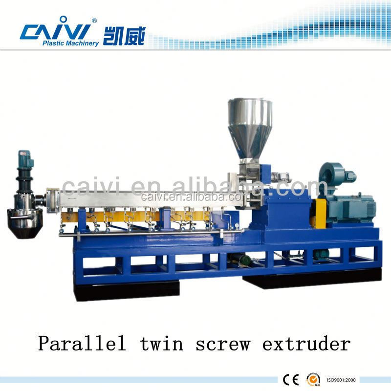 Parallel Twin Screw Barrel For Plastic Extruder PP Prilling Extrusion Machinery