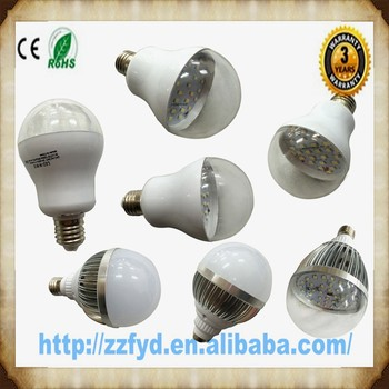 Led Lightbulb E27 With Frost And Clear Cover,360 Degree Sphere ...