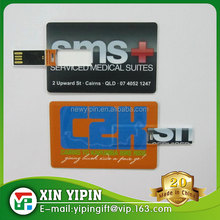Credit card model USB 2.0 16GB flash drive memory stick genuine pendrive