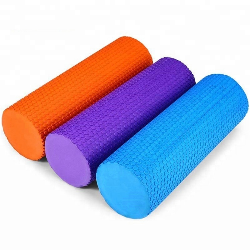 Yoga Exercise Muscle Massage Grid Foam Roller