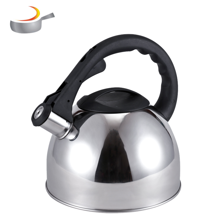 Big capacity hot water teapot whistling kettle stainless steel Color Painting Whistling tea Kettles