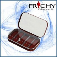 colorful fly fishing tackle box