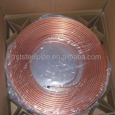 air conditioning pancake coil copper tube,Straight Copper Pipe / tube copper tube 6mm,C70600 90/10 Copper Nickel Pipe
