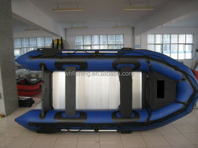 1.2mm PVC inflatable army boat with extra seat patches fiberglass transom CE marked