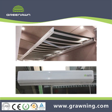 full cassette awnings/retractable awning arm