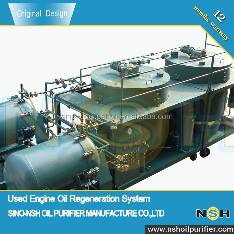 Factory Price Used Engine Oil Regenerate System, Oil Sludge Treatment