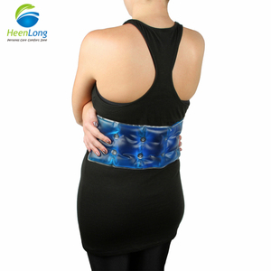 Medical therapy heat pack for back and waist Gel Click hot pad