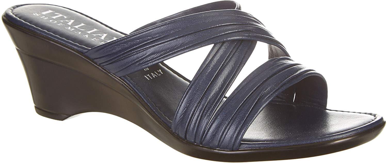 7404aaaa6fb4e ITALIAN Shoemakers Womens Cruise Wedge Sandals