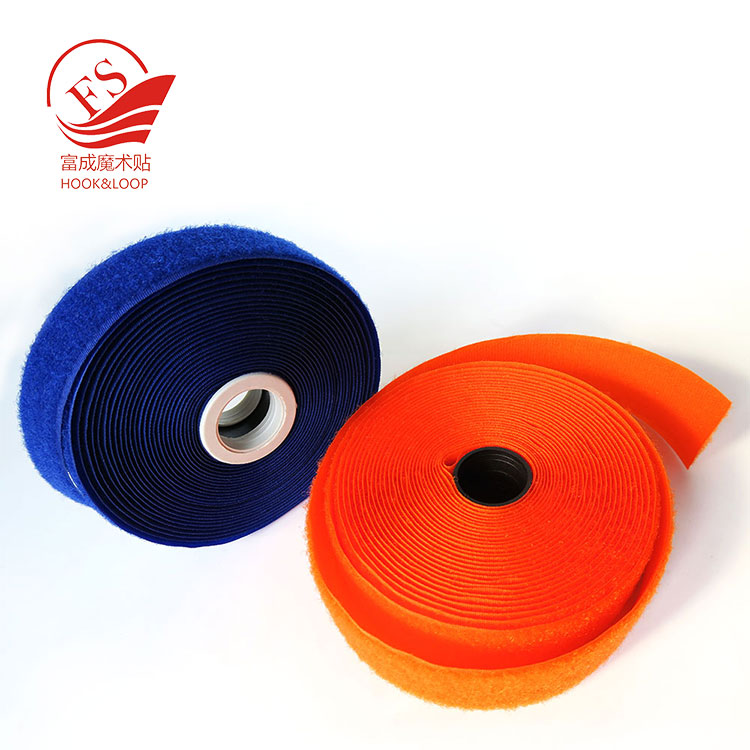 Good quality colorful nylon or polyester hook and loop