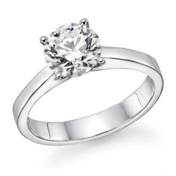 ec72d55c6de 1,01 Karaat Ronde Geslepen F Vs2 Echte Natuurlijke Diamant Verlovingsring  Op Wit Goud - Buy Ring Product on Alibaba.com