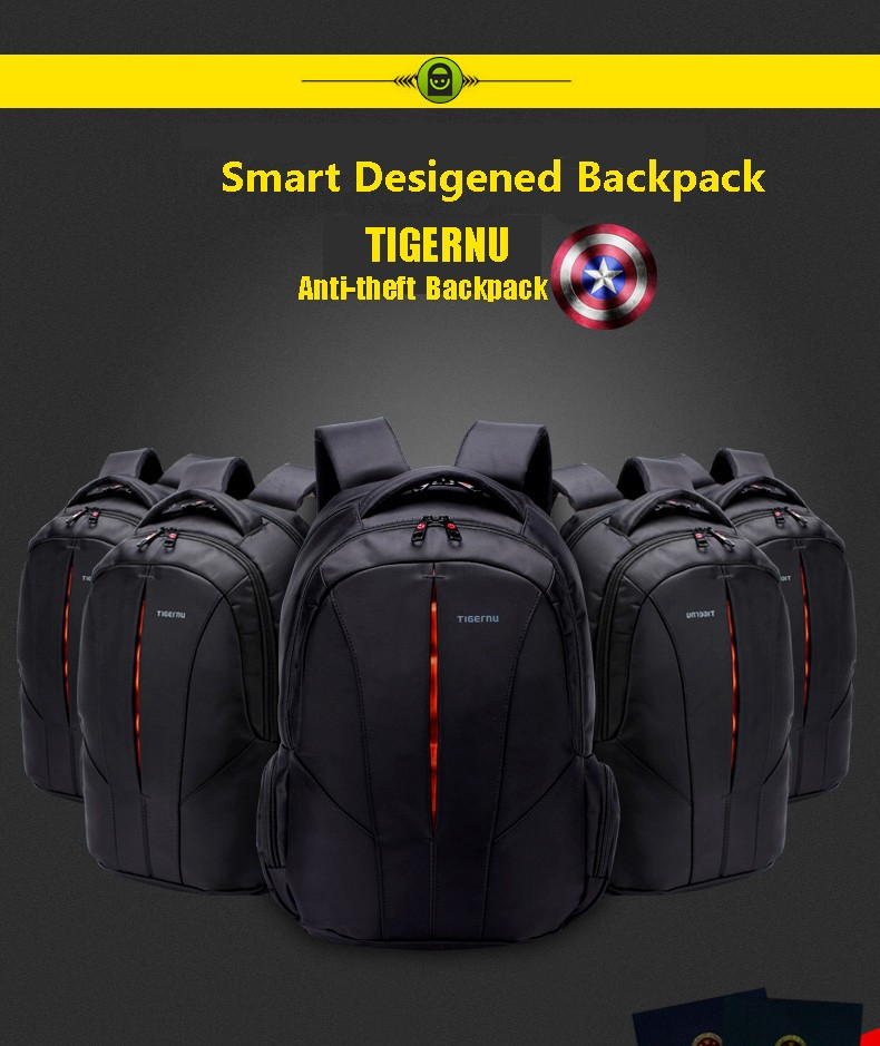 Hot Selling Brand Notebook Computer Laptop Backpack 15 6