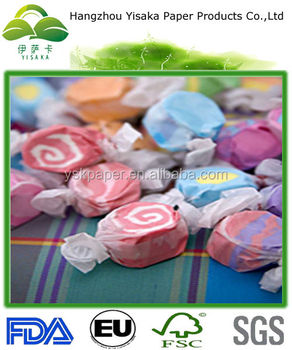 Bleached Caramel Candy Wrapping;wax Paper Candy Wrappers - Buy Wax ...