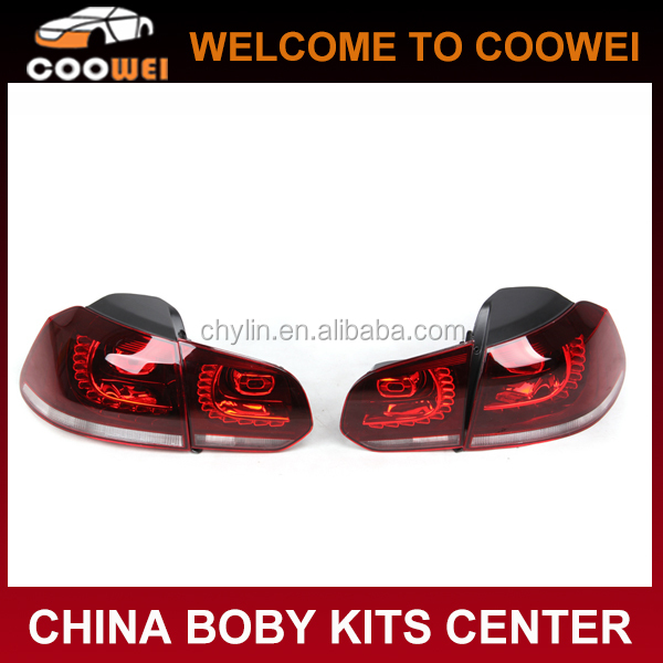 HID Golf6 MK6 R20 Taillight Tail Lamp For VW Volkswagen Golf 6 VI