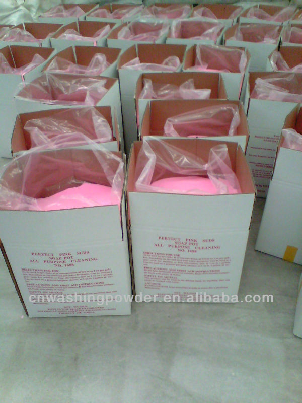 Red washing powder to USA market