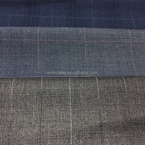 polyester viscose suit elastane fabric knitting rib fabric shiny suit fabric