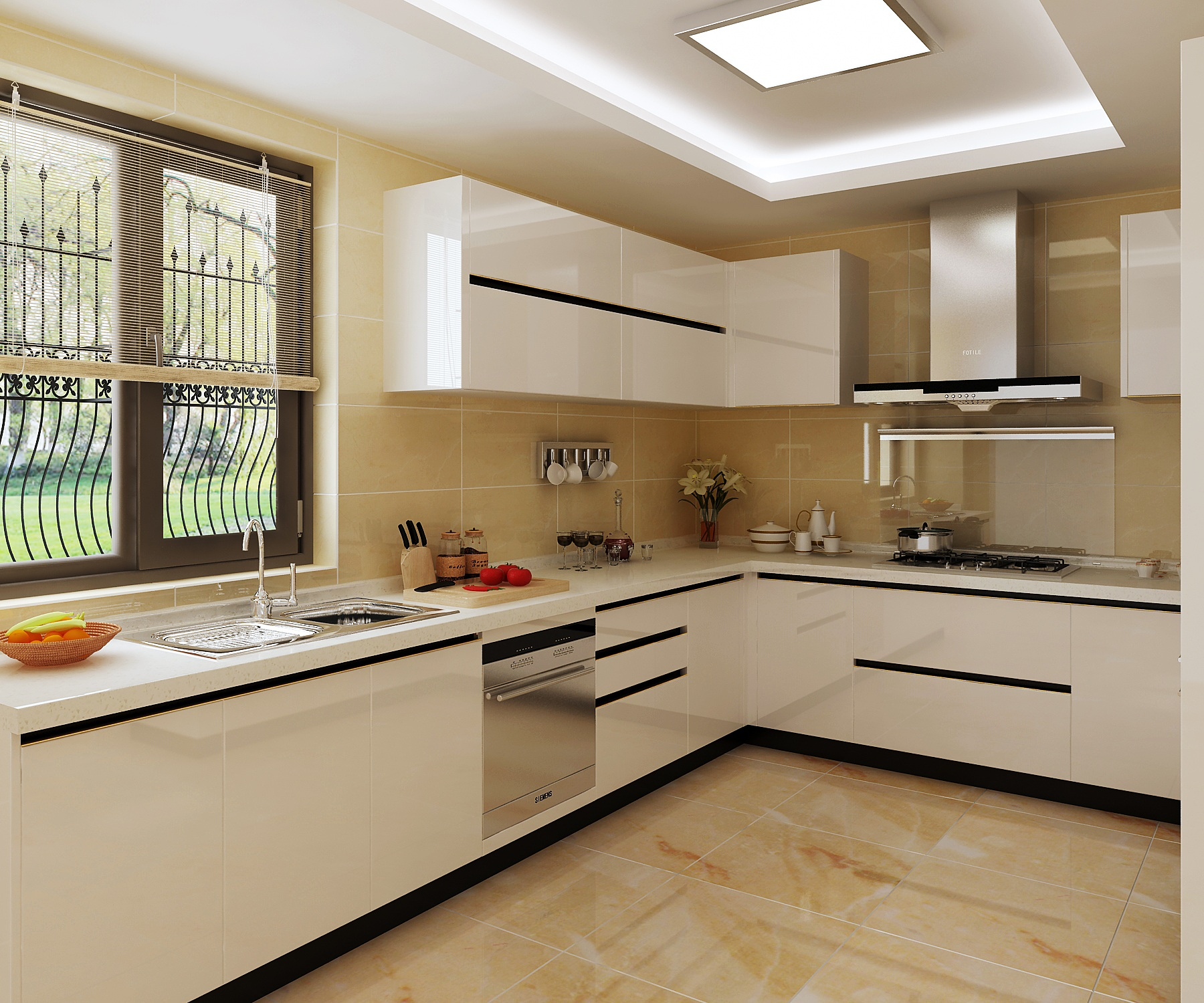 Kabinet Dapur Kayu Solid Cat Mobil Putih Sederhana Praktis Buy White Paint Kitchen Cabinet Solid Wood Kitchen Cabinet White Kitchen Cabinet Product On Alibaba Com