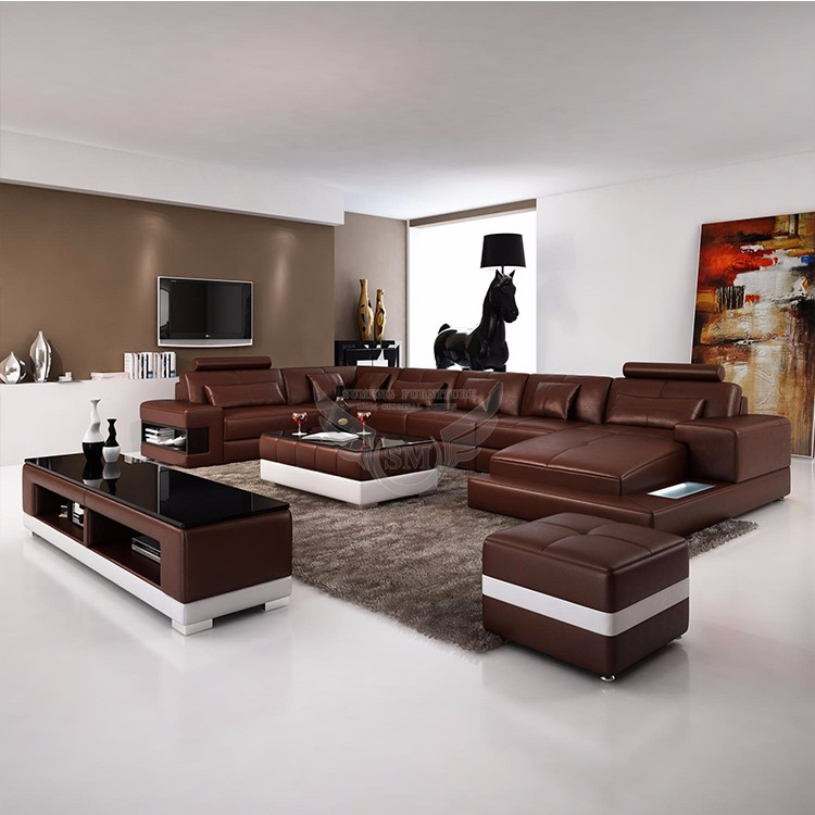 Space Saving Malaysia Wood Sofa Set Living Room Furniture
