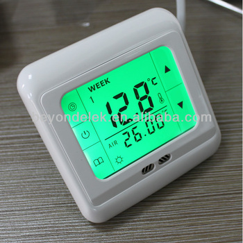 touchscreen fussbodenheizung thermostat  buy