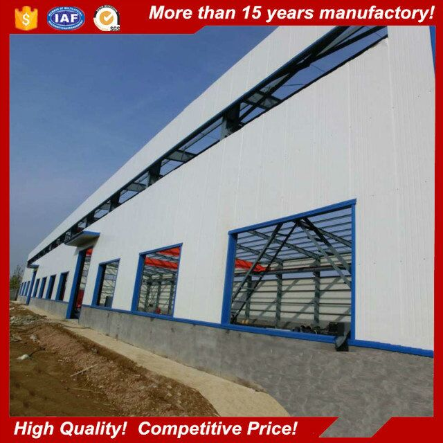 Prefabricated high rise steel structure arch building for sale