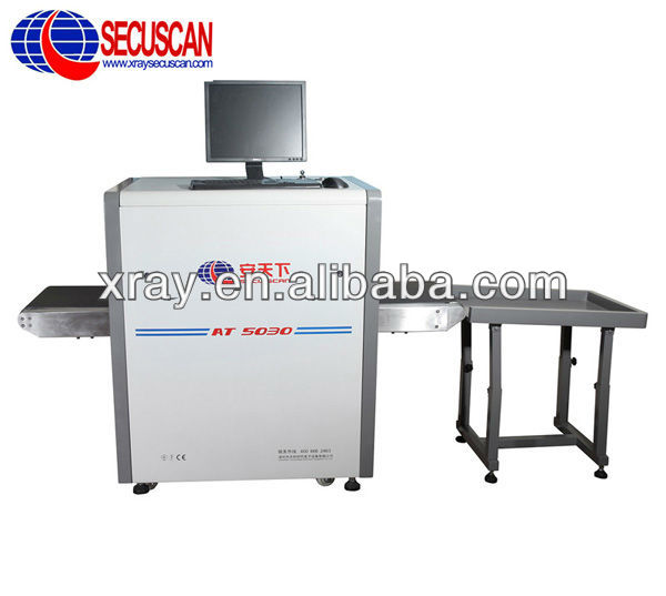 Portable Security Airport X Ray Scanning Machine for Finding Weapons, Dangerous Items