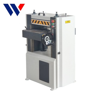 China woodworking industrial double side wood thicknesser planer machine for sale