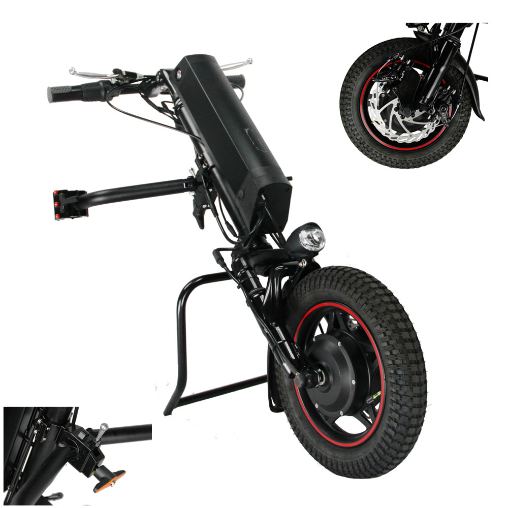 CNEBIKES electric handbike wheelchair attachment 36v 350w electric handcycle