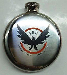 3oz 5oz 8oz round hip flask with logo